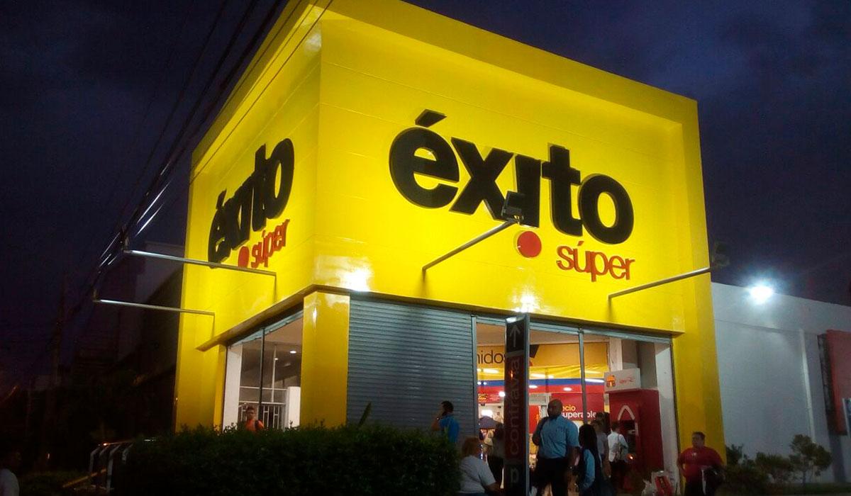 Almacenes Éxito Santa Marta – Valledupar – Riohacha – La Mina